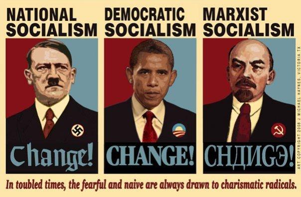 Hitler Obama Lénine