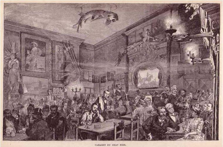 Le fabuleux destin de Jules Depaquit dans Un peu d'Histoire Cabaret-du-Chat-Noir