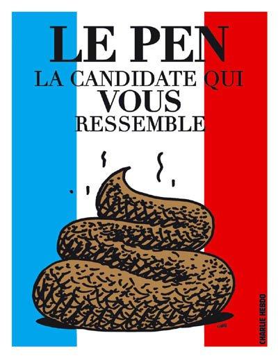 L'économie selon Marine Le Pen dans Economie Politique ou Politique de l'Economie ? affiche-lepen