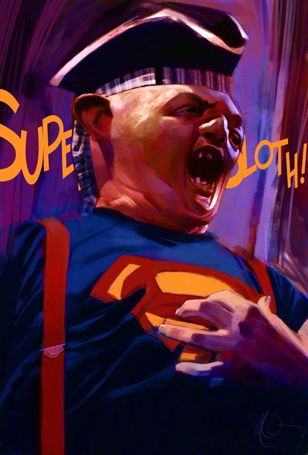 Massimo Carnivale, l'artiste le plus ciné-geek ! dans Ca, de l'art ? goonies