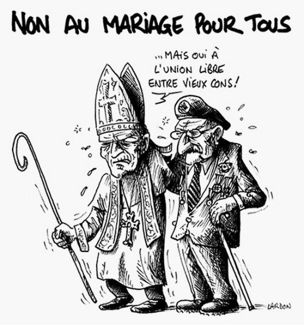 Mariage gay : l'avis de Gilles Raveaud dans La Société en question(s) vieux-cons