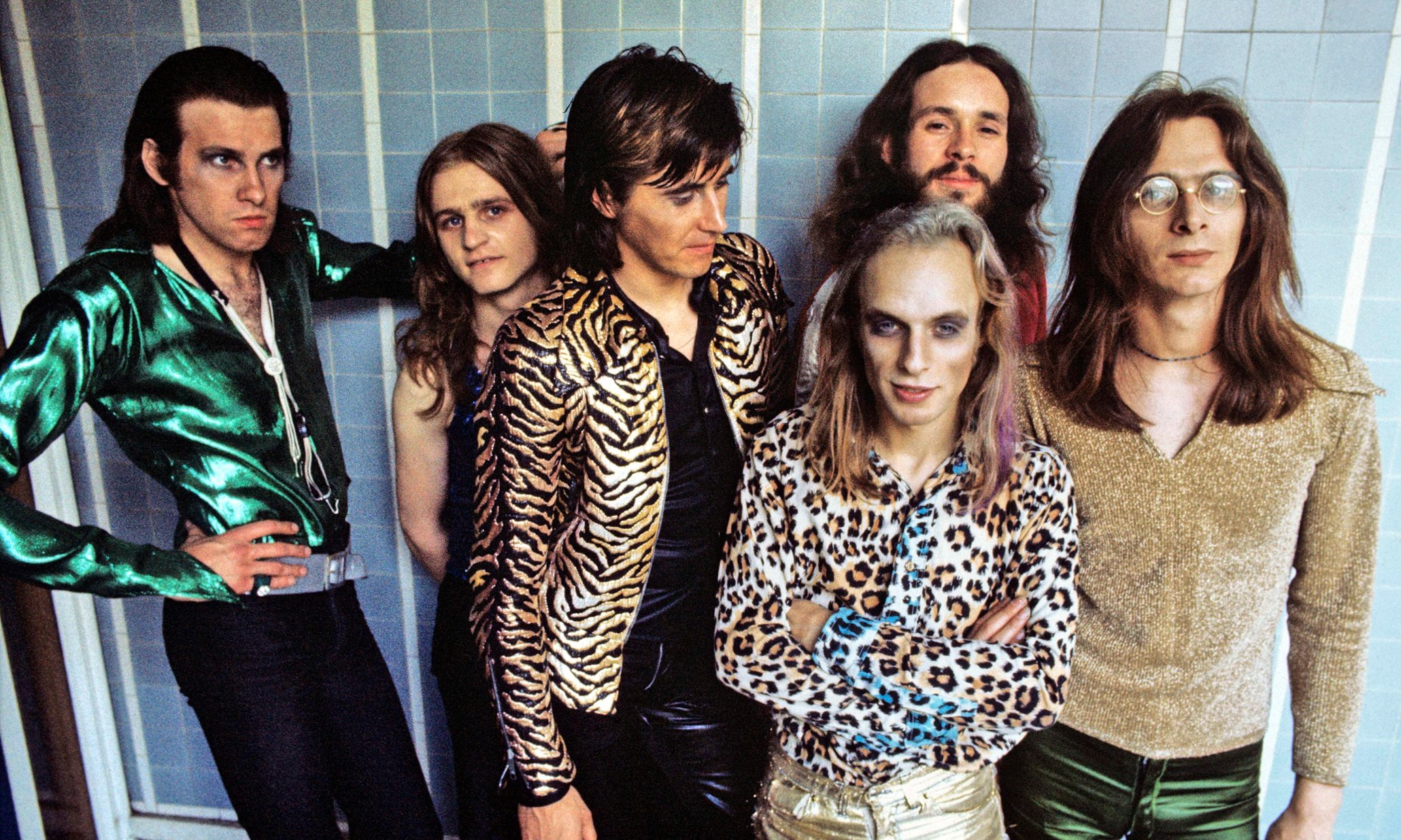 Roxy Music At Royal College Of Art In London 1972